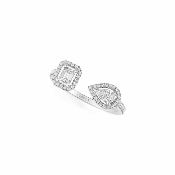Bague Messika My Twin 0,30ct en Or blanc et Diamant