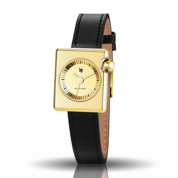 Montre Lip Mach 2000 30mm x 28mm Mini Square 671101
