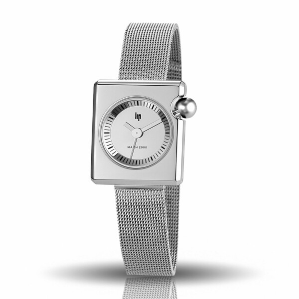 Montre Lip Mach 2000 30mm x 28mm Mini Square Metal 671108