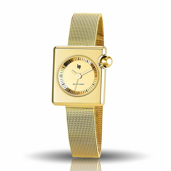 Montre Lip Mach 2000 30mm x 28mm Mini Square Metal 671109