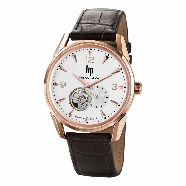 Montre Lip Himalaya 40mm Cœur battant 671254