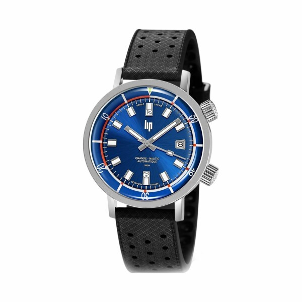 Montre Lip Nautic-Ski Auto/Saphir