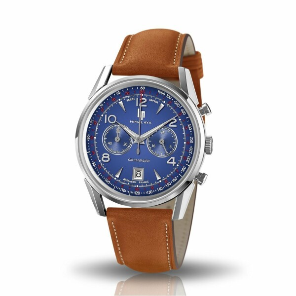 Montre Lip Himalaya 40mm Chrono Saphir 671597