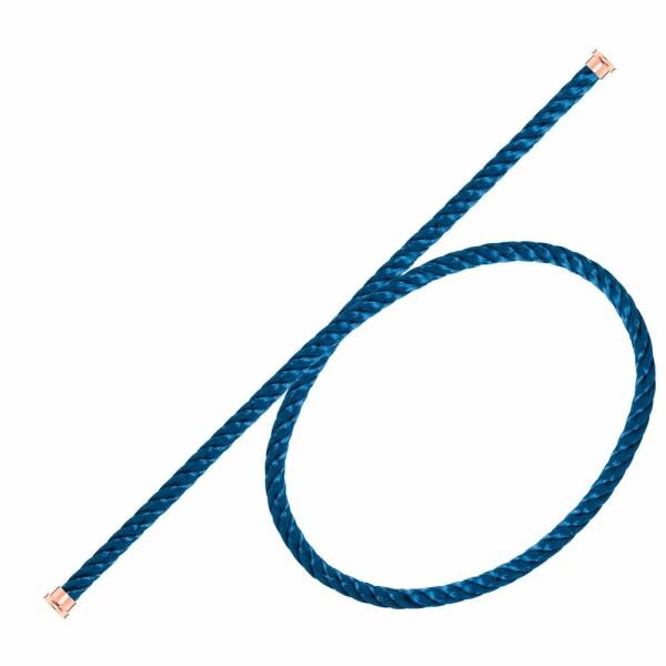 Câble grand modèle FRED Force 10 en acier bleu marine