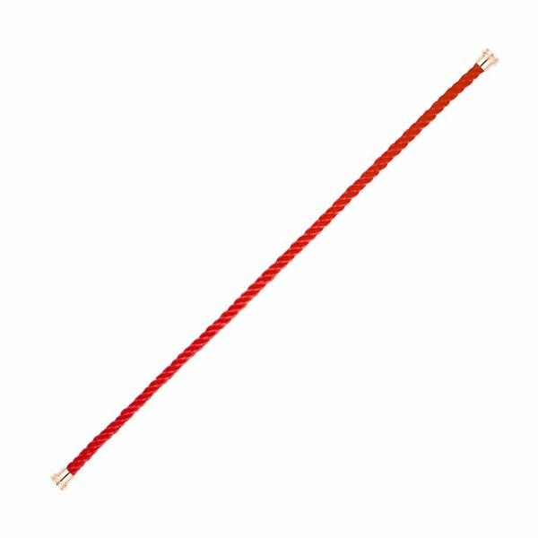 Câble moyen modèle FRED Force 10 en corderie rouge