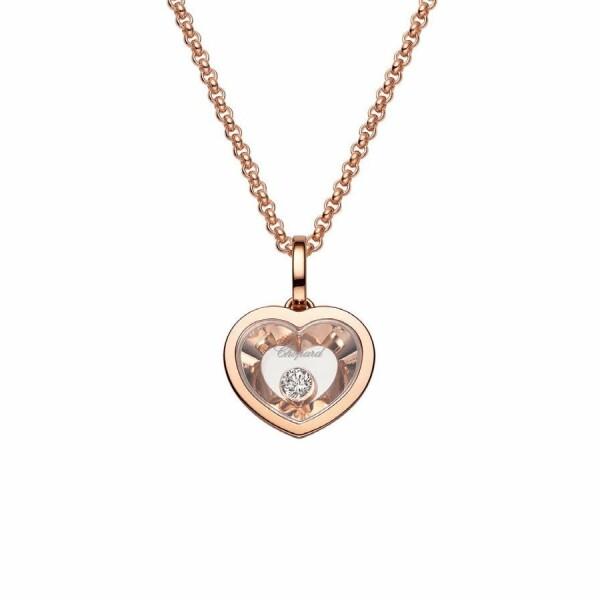 Collier Chopard Very Chopard en or rose et diamants