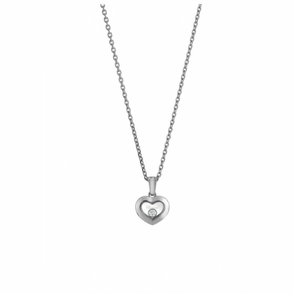 Pendentif Chopard Happy Diamonds Iconsen or blanc et diamant