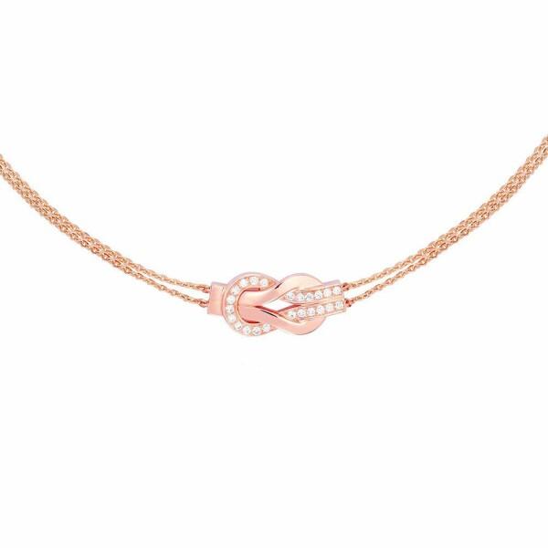 Collier FRED 8°0 en or rose et diamants
