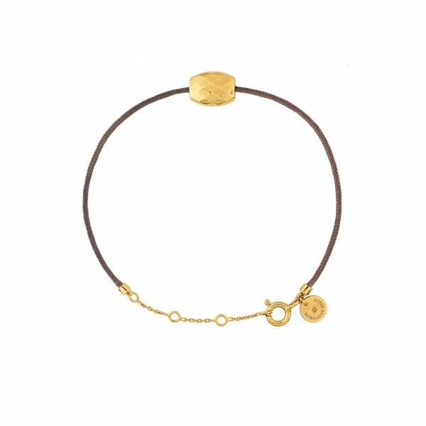Bracelet sur cordon Morganne Bello Friandise Petite en or jaune