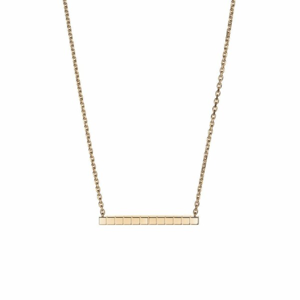 Collier Chopard Ice Cube Pure en or rose