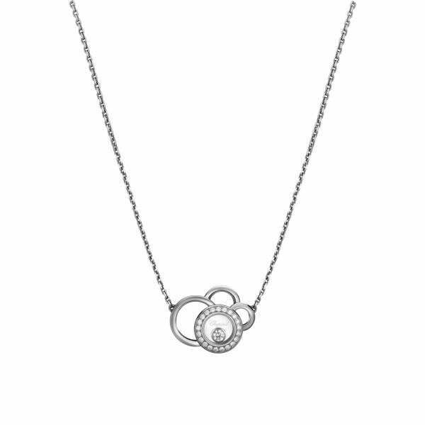 Collier Chopard Happy Dreams en or blanc et diamants