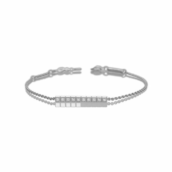 Bracelet Chopard Ice Cube en or blanc et diamants