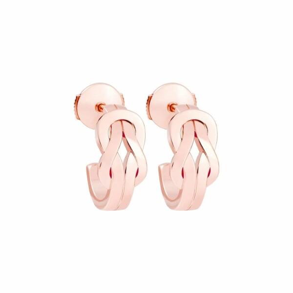 Boucles d'oreilles FRED 8°0 en or rose