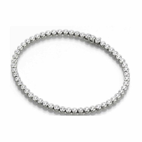 Bracelet en or blanc et diamants de 0.80ct