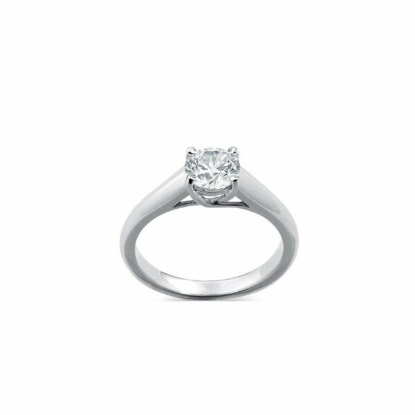 Solitaire en or blanc et diamant de 0.25ct