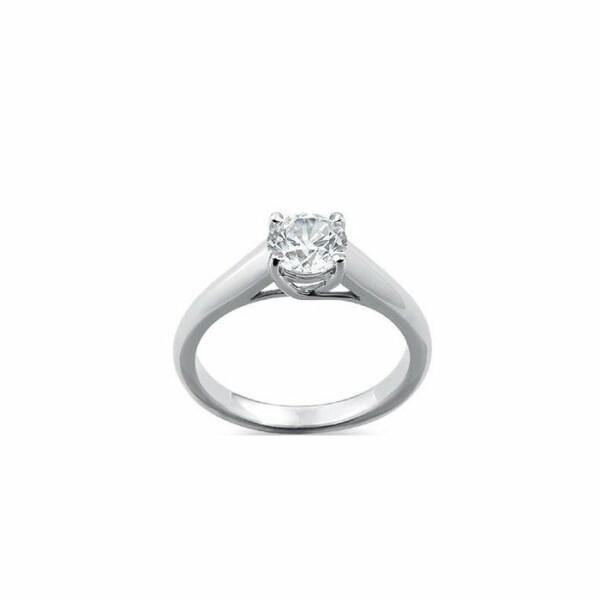Solitaire en or blanc et diamant de 0.25ct