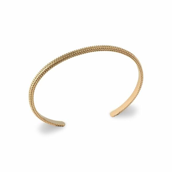 Bracelet en plaqué or jaune, longueur de 58cm