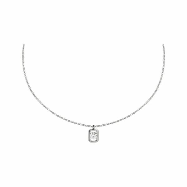 Collier en or blanc et diamant de 0.16ct
