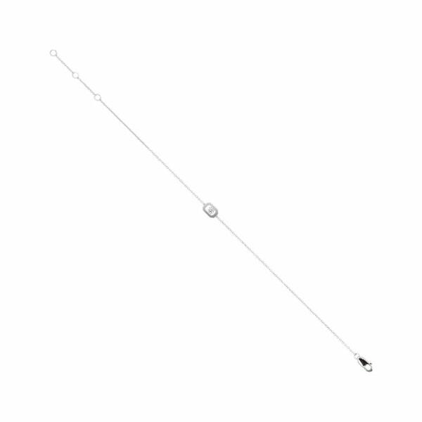 Bracelet en or blanc et diamant de 0.09ct