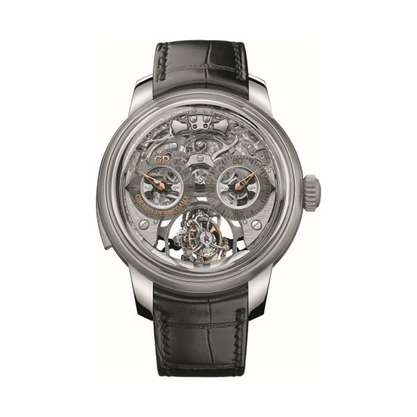 Montre Girard-Perregaux Bridges Minute Repeater Tri-Axial Tourbillon