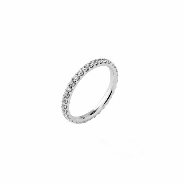 Alliance en or blanc et diamants H/I P1 de 0.75ct