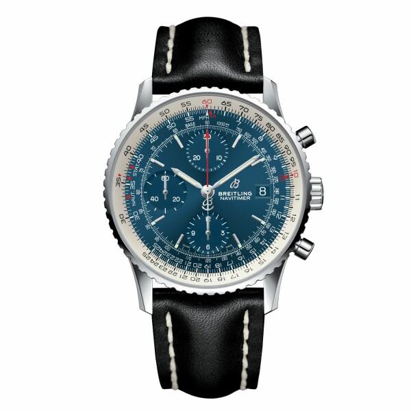 Montre Breitling Navitimer 1 Chronograph 41 Acier - Aurora Blue