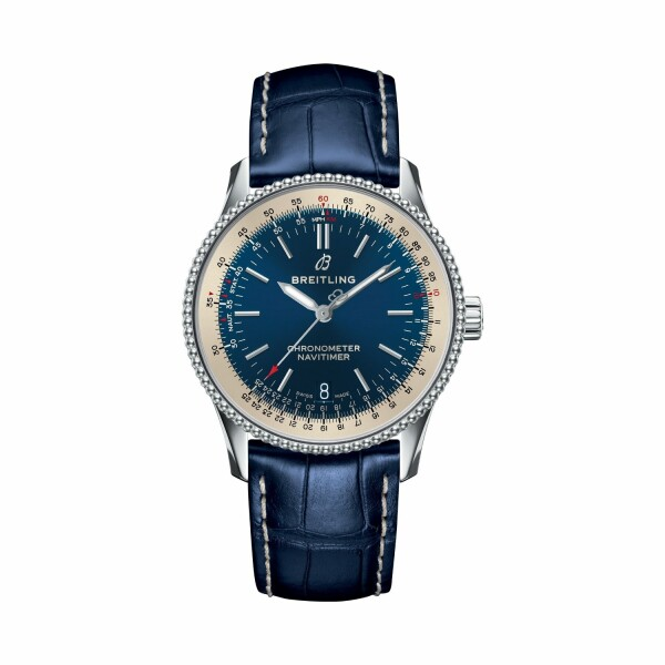 Montre Breitling Navitimer 1 Automatic 38 Acier - Bleu