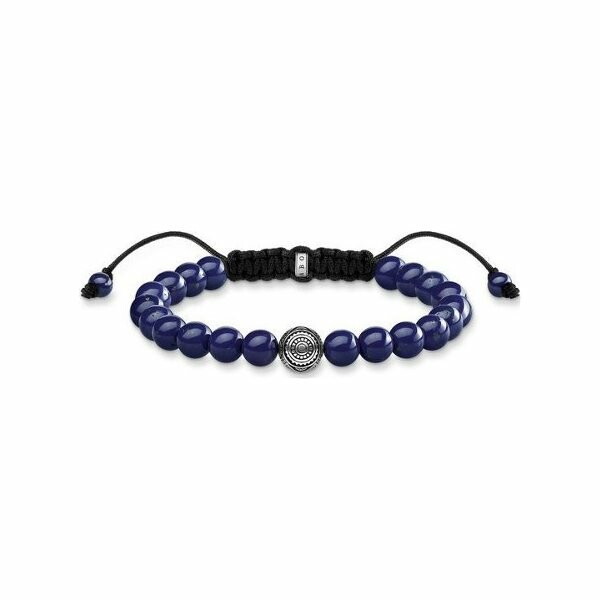 Bracelet Thomas Sabo Rebel at heart Ethnique Bleu en argent et lapis-lazuli