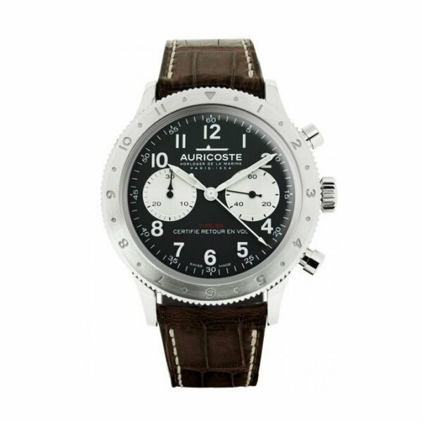 Montre Auricoste Type 20  FlyBack 42mm A20AP