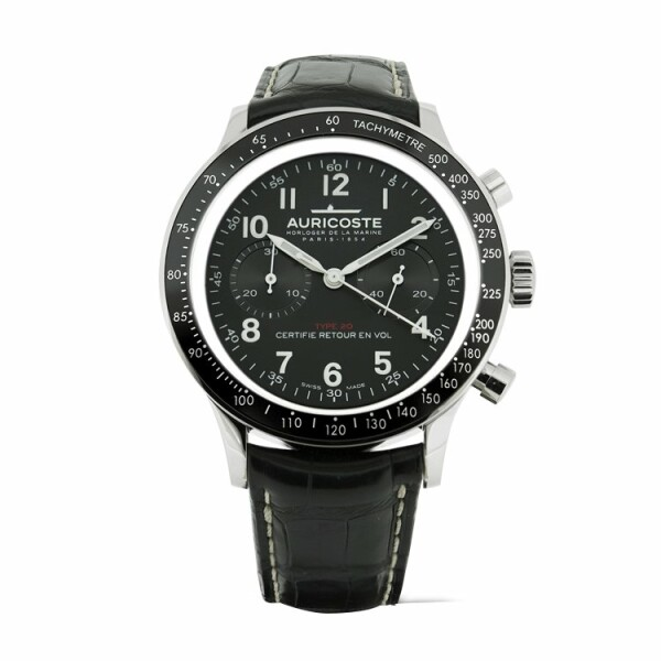 Montre Auricoste Type 20  FlyBack 42mm A20NT