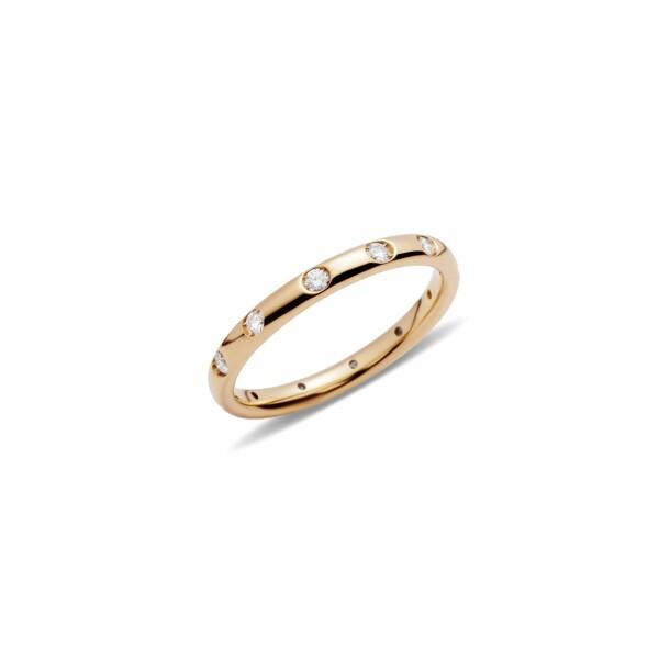 Bague Pomellato Lucciole en or blanc et 12 diamants