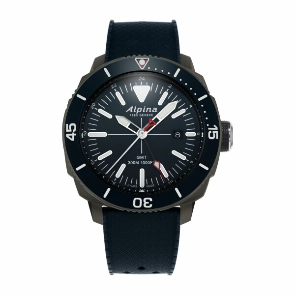 Montre Alpina Seastrong GMT Diver 300