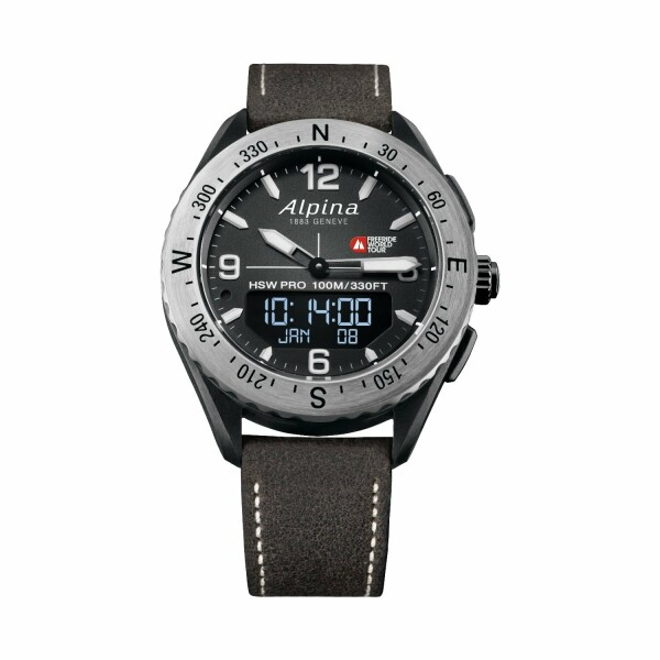 Montre connectée Alpina Alpinerx Limited Edition Freeride World Tour