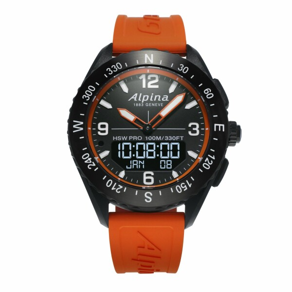 Montre connectée Alpina Horological Smartwatch Alpinerx