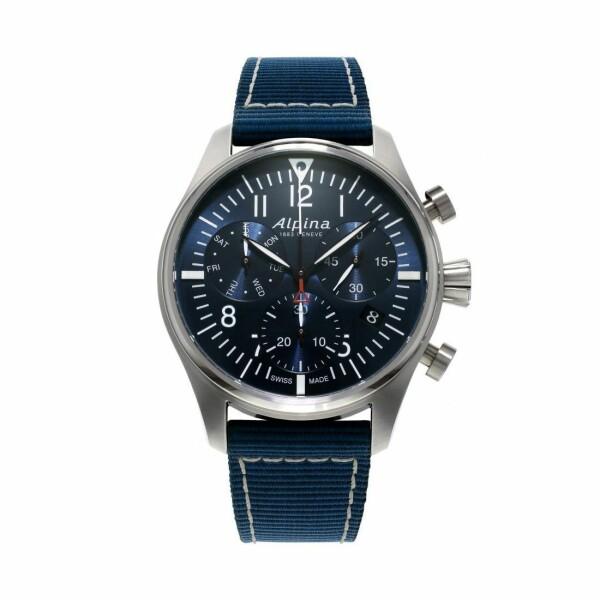 Montre Alpina Startimer Pilot Chronograph Quartz