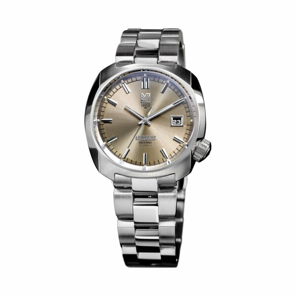 Montre March L.A.B AM1 Automatic - Magnum - Bracelet en acier 3 maillons