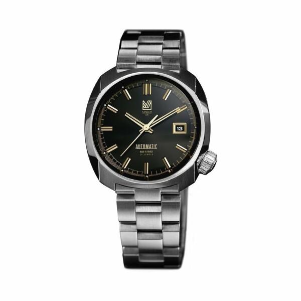 Montre March L.A.B AM1 Automatic - Supreme - Bracelet en acier 3 maillons
