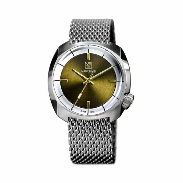 Montre March L.A.B AM1 Slim Electric - Bracken - mesh band