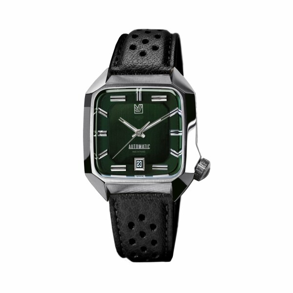 Montre March L.A.B AM2 Automatic - Grall - buffle black perforated