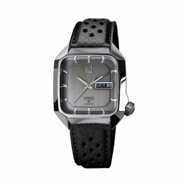 Montre March L.A.B AM2 Electric - Stealth - buffle black perforated