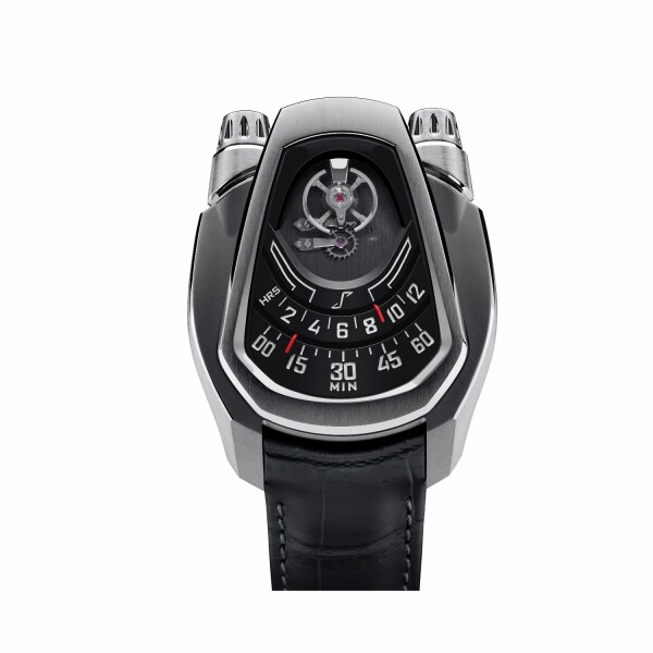 Montre Phenomen PH-01 Full Titanium Black Dial