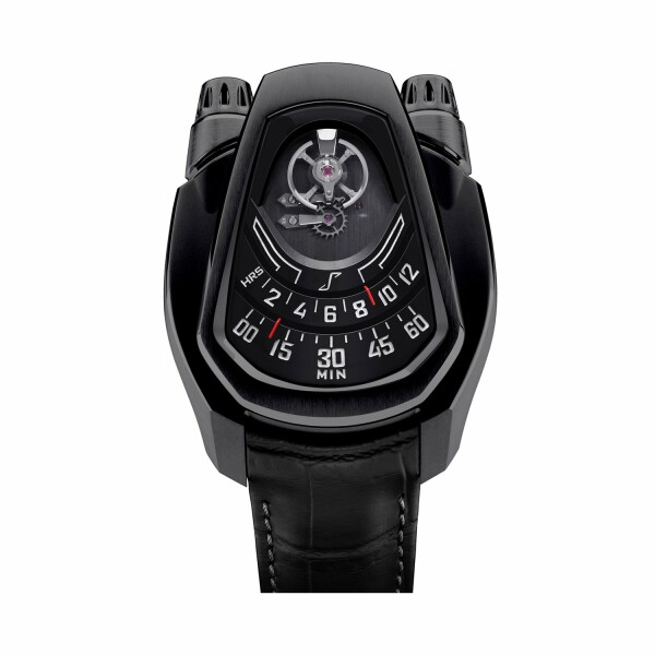 Montre Phenomen PH-01 Full Titanium Shooting Black
