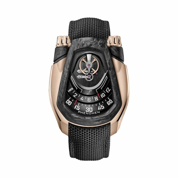 Montre Phenomen PH-01 Red Gold & Carbon Fiber