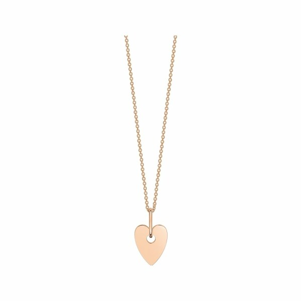 Collier GINETTE NY ANGELE en or rose