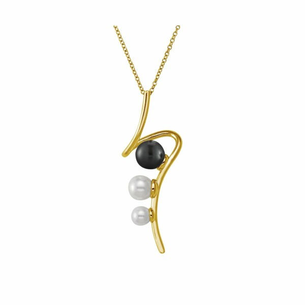 Collier Jourdan Bijoux Venus en argent et perle