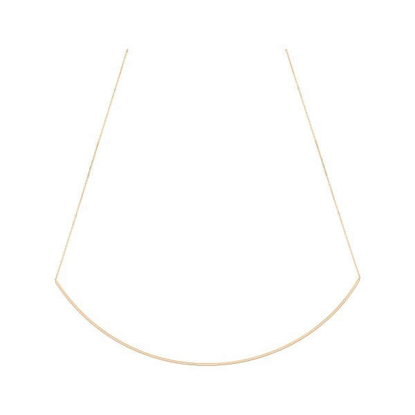 Collier GINETTE NY ARC & ARROW en or rose