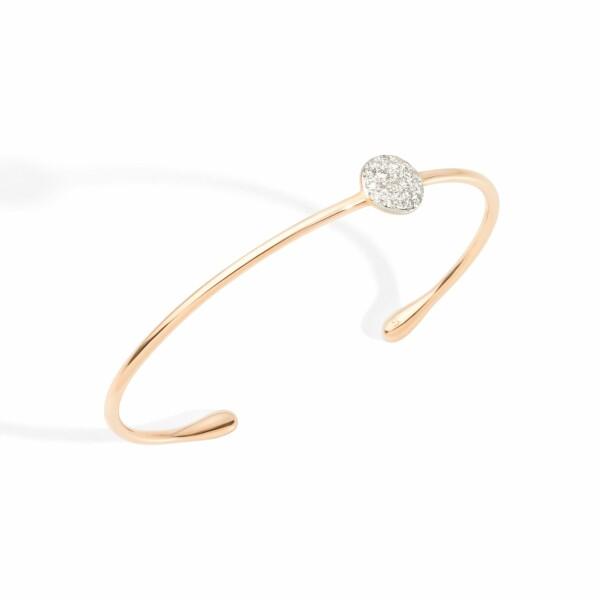 Bracelet Pomellato Sabbia en or rose et diamants