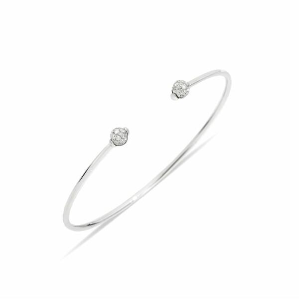 Bracelet Pomellato M'ama non m'ama en or blanc et diamant
