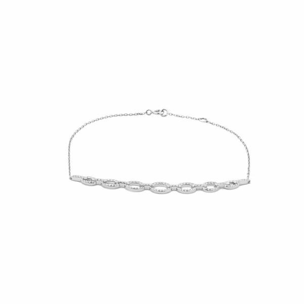 Bracelet en or blanc et diamants de 0.32ct
