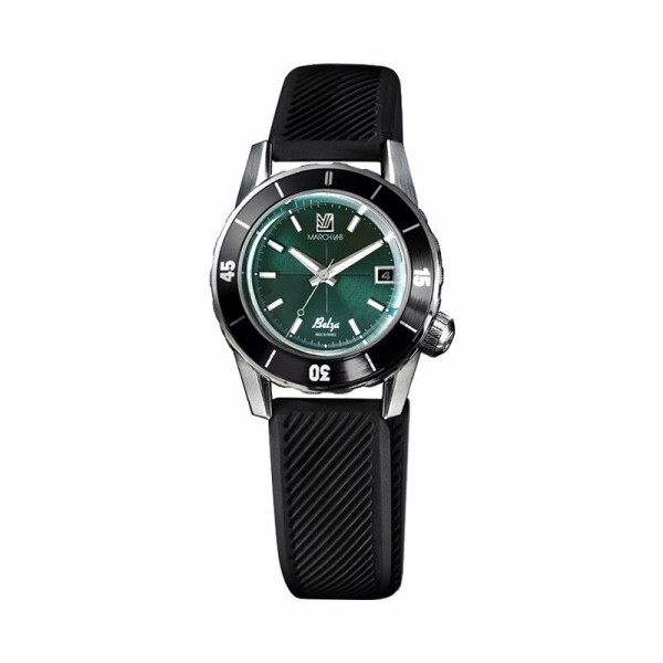 Montre March L.A.B Belza Automatic - Forest - Bracelet silicone